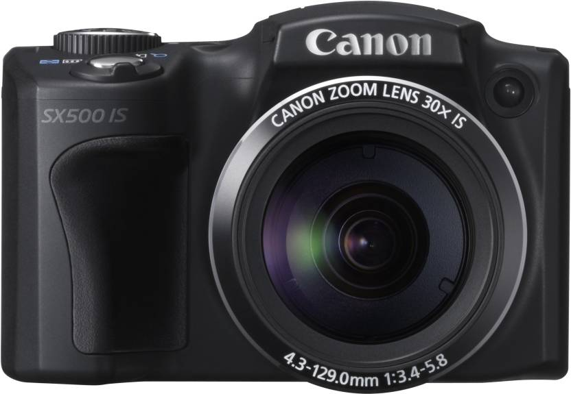 Canon SX500 IS Point & Shoot Camera