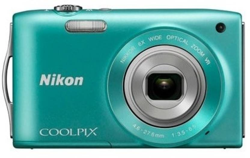 Nikon S3300 Point & Shoot Camera
