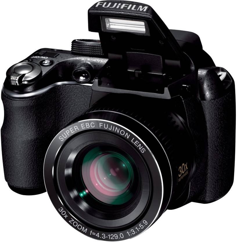 Fujifilm FinePix S4000 Point & Shoot Camera