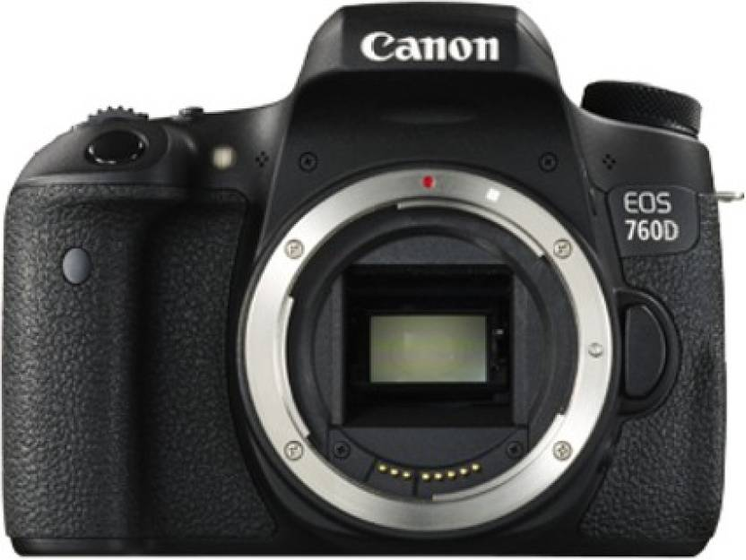 Canon EOS 760D DSLR Camera (Body only) Price in India - Buy Canon