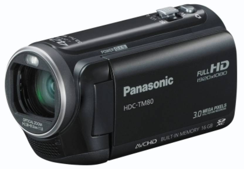 Panasonic HDC-TM80 Camcorder Camera