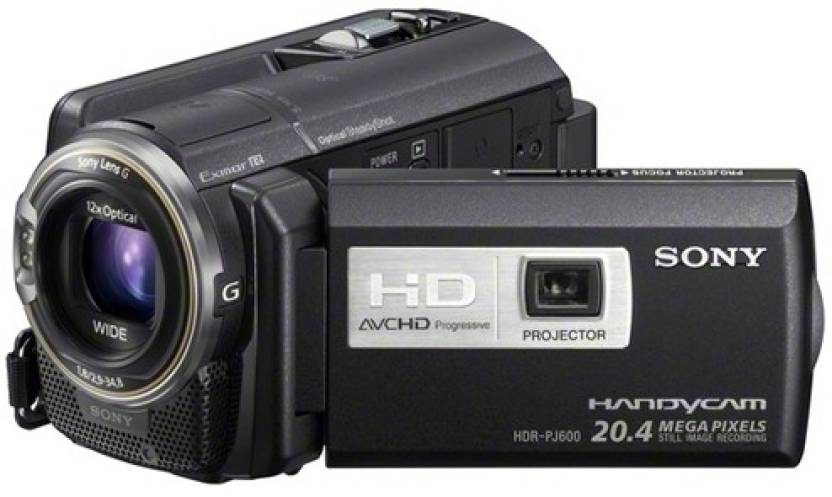 Sony HDR-PJ600 Camcorder Camera