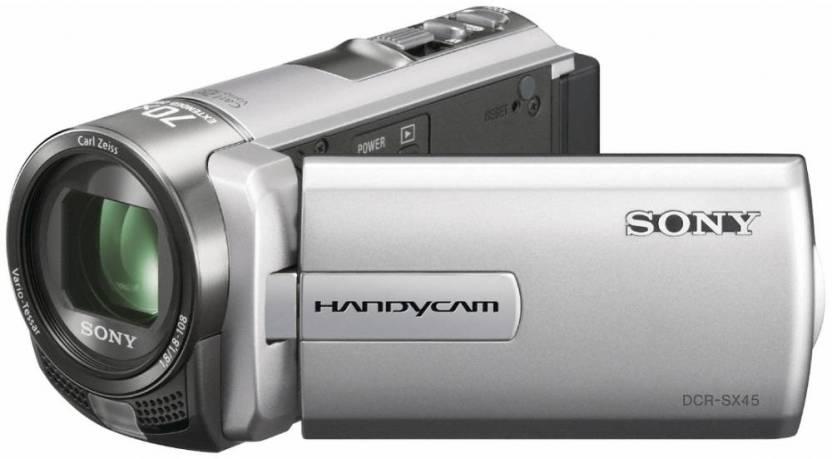 Sony DCR-SX45E Camcorder Camera