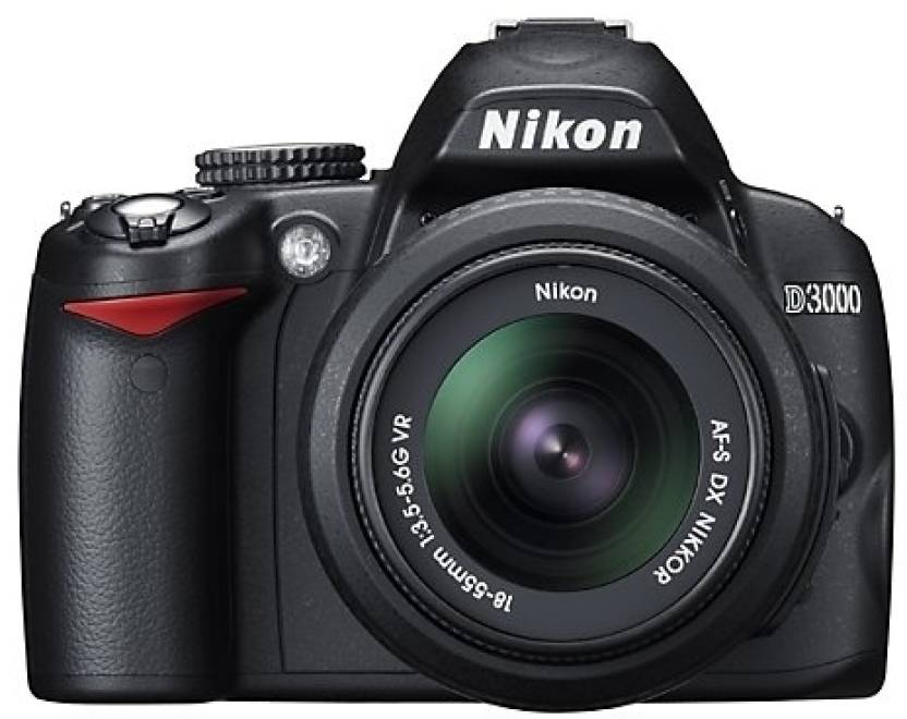 Nikon D3000 DSLR Camera (Body only)