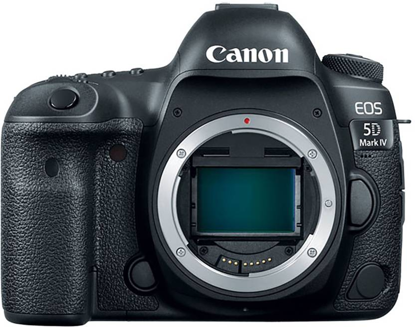 Canon 5D Mark IV DSLR Camera  Body only  Black  Canon DSLR   Mirrorless