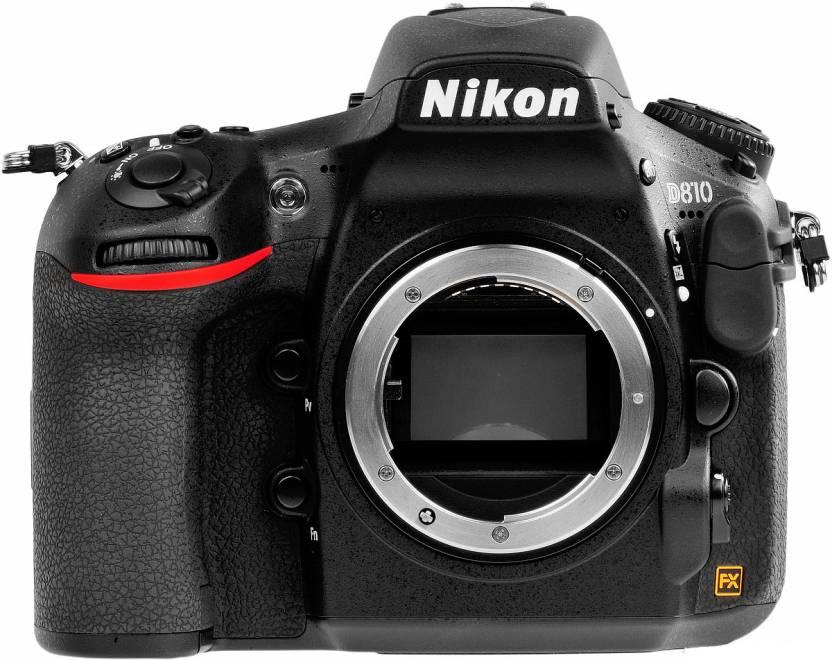 Nikon D810 Body only  DSLR Camera  Body only  Black  Nikon DSLR   Mirrorless
