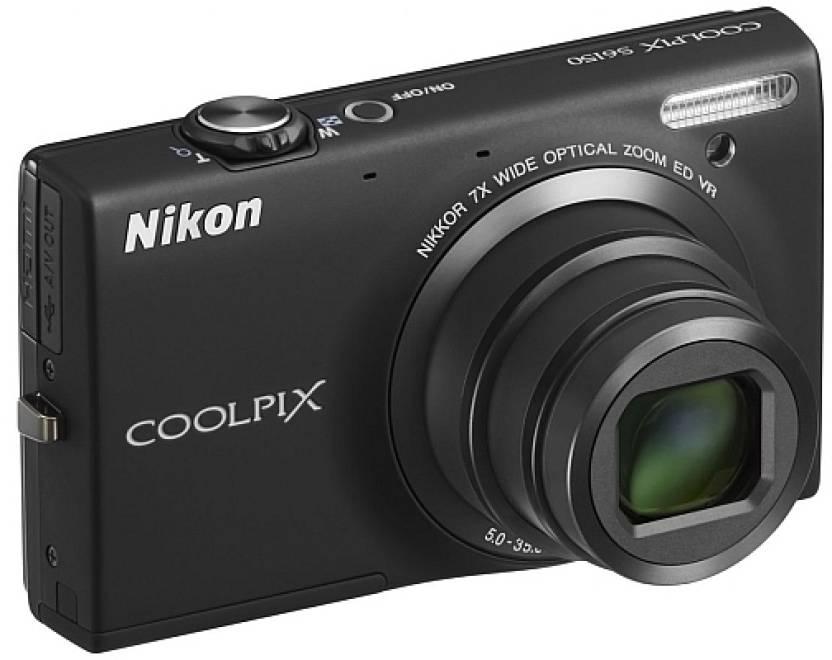 Nikon Coolpix S6150 Point & Shoot Camera