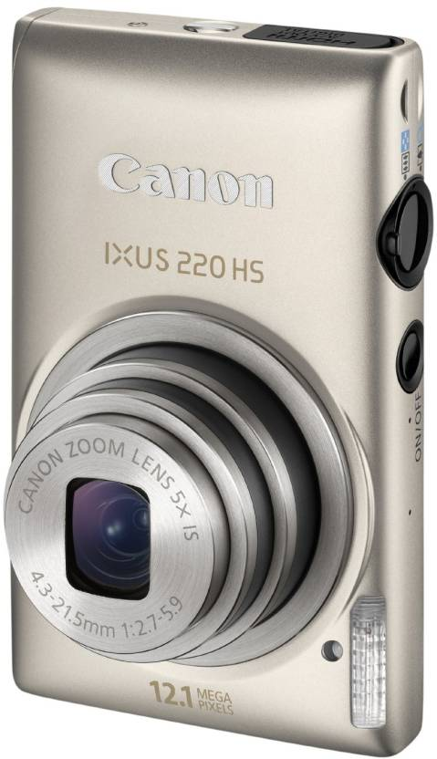 Canon IXUS 220 HS Point & Shoot Camera