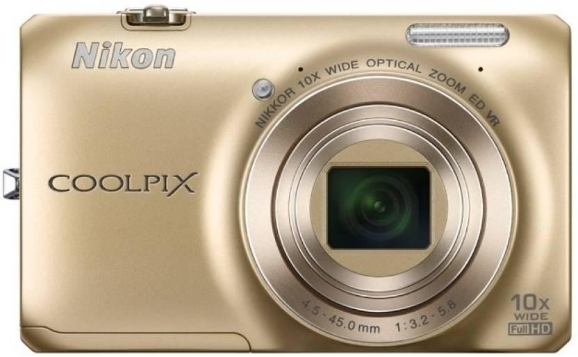 Nikon S6300 Point & Shoot Camera