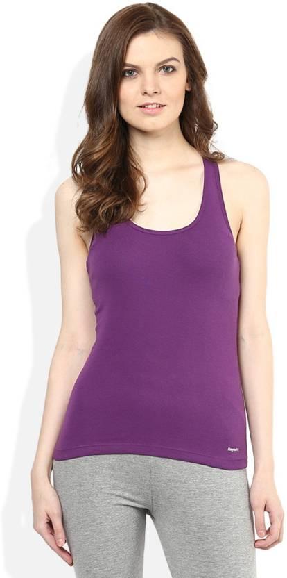 47f8c684308fef Trudam Women s Tank Top Vest - Buy Purple Trudam Women s Tank Top Vest  Online at Best Prices in India