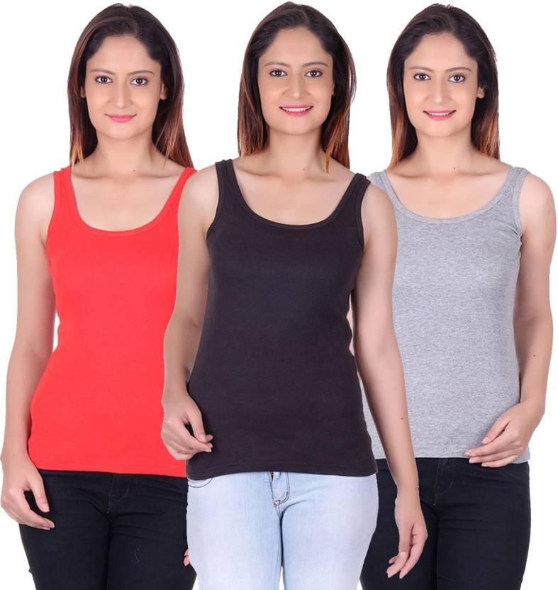 e26c1a183b4250 Trudam Women s Tank Top Vest - Buy Multicolor Trudam Women s Tank Top Vest  Online at Best Prices in India