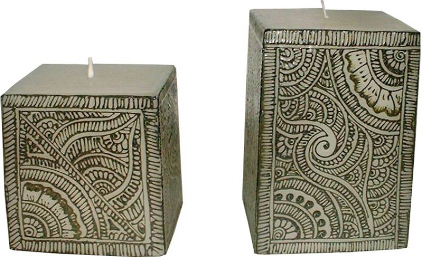 Indigo Creatives Classy Henna Mehendi Festive Pattern 2 Nos Large