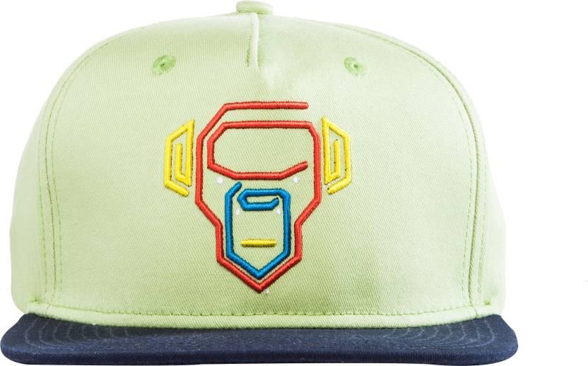 a721b87104a2c8 Urban Monkey Solid Skull Cap, Baseball Cap, Snapback Cap, hiphop Caps,  Sports wear, Hip Hop, Cap, ...