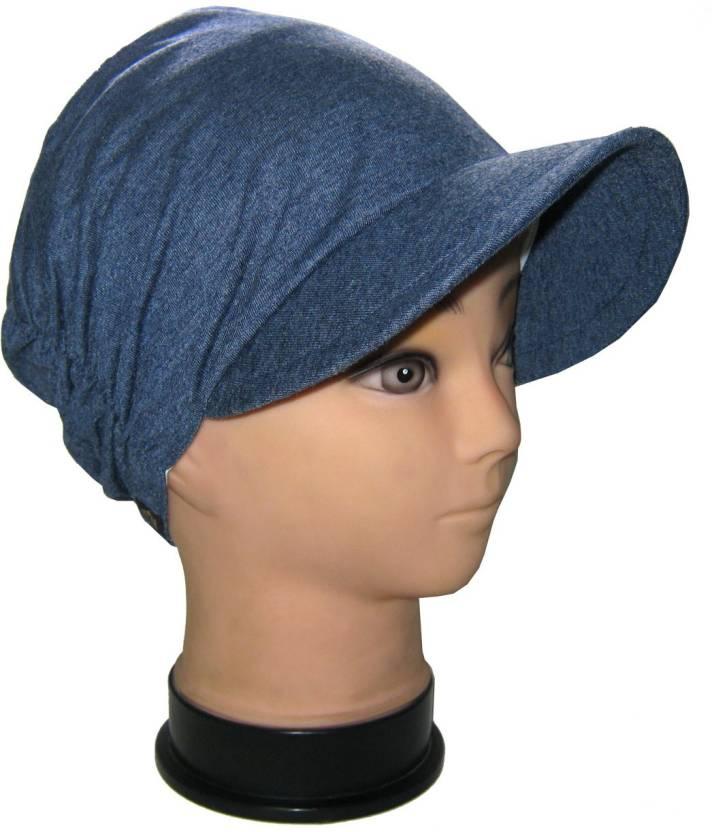 33add33006f Shri Swami Bags Goodluck Full Ear and Head Cover Cap - Buy Blue Shri Swami  Bags Goodluck Full Ear and Head Cover Cap Online at Best Prices in India ...