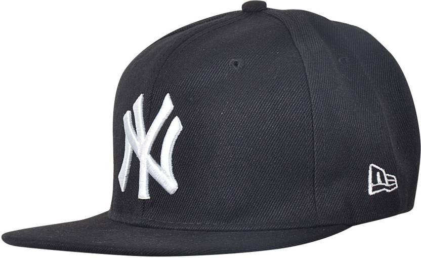 Krystle Black NY Hip Hop Cap - Buy Black Krystle Black NY Hip Hop Cap Online  at Best Prices in India  1f7c96e101b