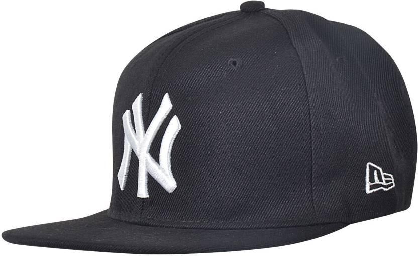 Krystle Black NY Hip Hop Cap - Buy Black Krystle Black NY Hip Hop Cap Online  at Best Prices in India  90606d56e44