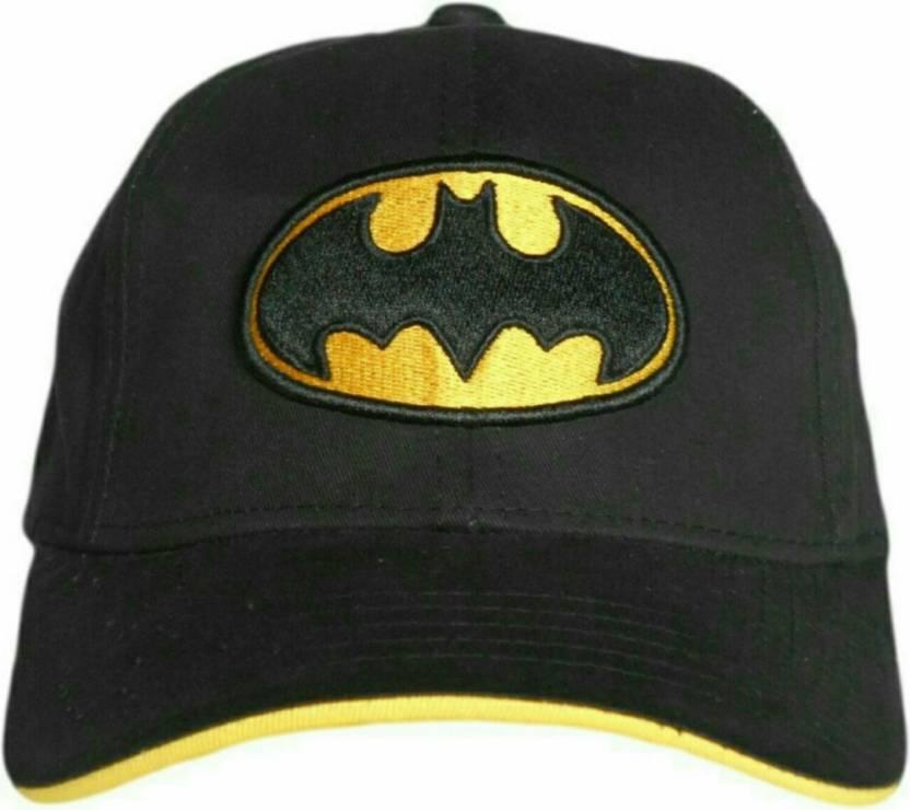 54351fbdb2 Friendskart Batman Cap - Buy Black Friendskart Batman Cap Online at Best  Prices in India