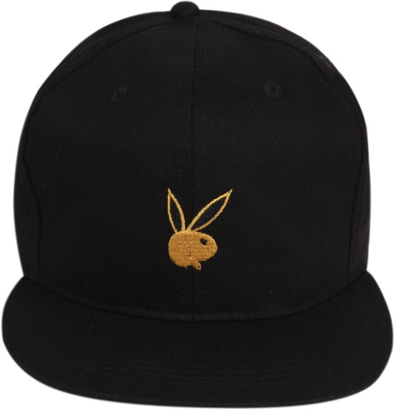 b4aadc0d3dc ILU Solid Playboy caps black cotton