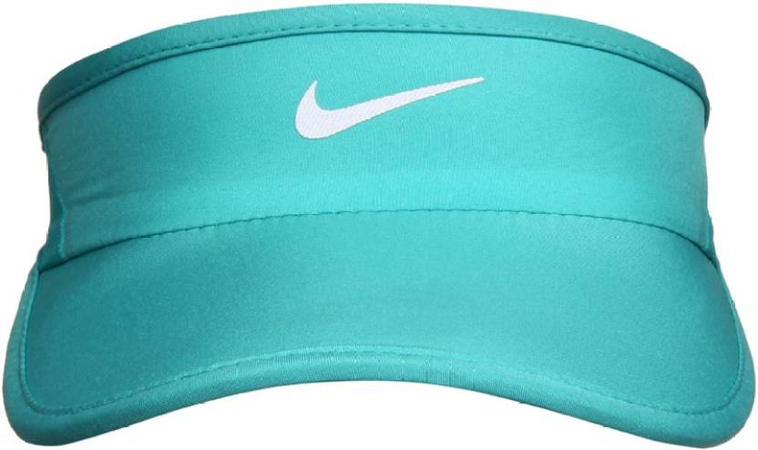 c2f1760f52318 Nike Ws Feather Light Visor Solid Visor Cap - Buy DUSTY  CACTUS ANTHRACITE BLACK WHITE Nike Ws Feather Light Visor Solid Visor Cap  Online at Best Prices in ...