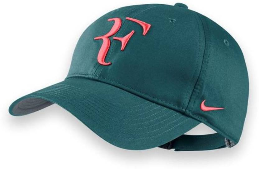 Nike Roger Federer Unisex Solid Tennis Cap - Buy Green Nike Roger Federer  Unisex Solid Tennis Cap Online at Best Prices in India  c9036a172d1