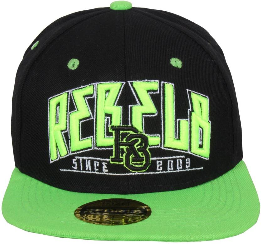 b72c8ef3ee1 Sushito Green Hip Hop Solid Fancy Sports Hip Hop Cap - Buy Black ...