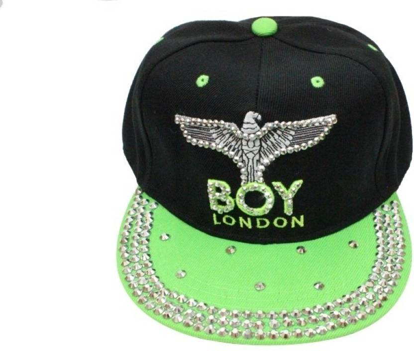 TakeInCart T-46891 Printed BOY London Cap - Buy Black 0f1e38cd4adb
