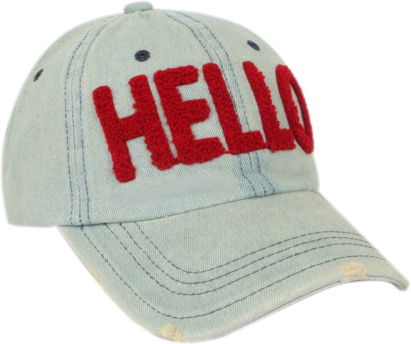 803e9c3863a1d ILU Hello caps Denim blue red