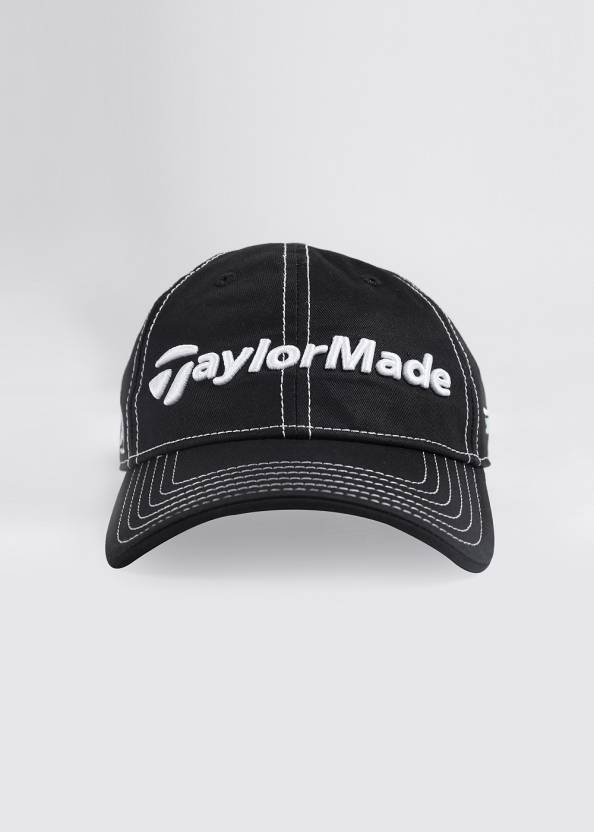 650142ad59a TaylorMade Solid Cap - Buy Black TaylorMade Solid Cap Online at Best Prices  in India | Flipkart.com