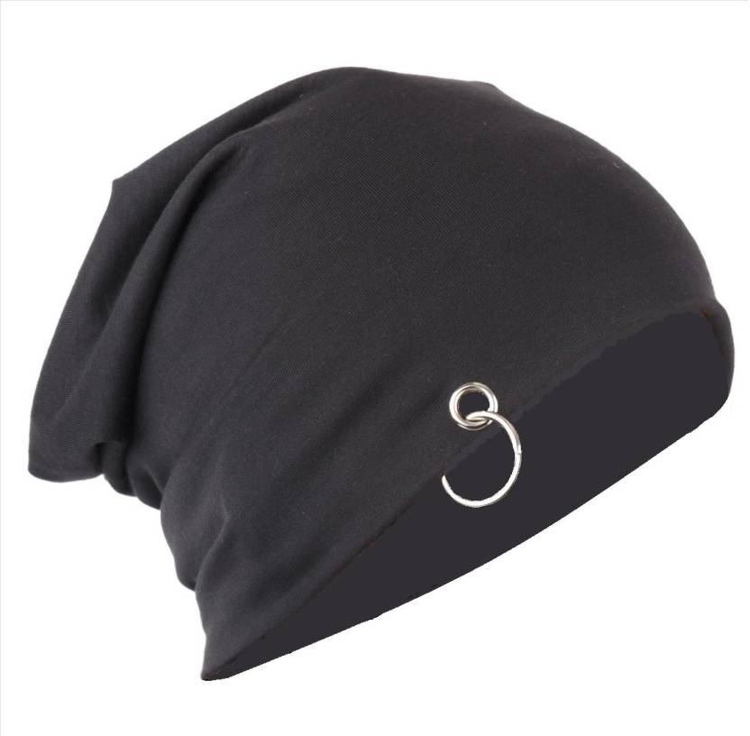 093d15e8ba0 Gajraj Solid Skull Cap - Buy Midnight Black Gajraj Solid Skull Cap Online  at Best Prices in India