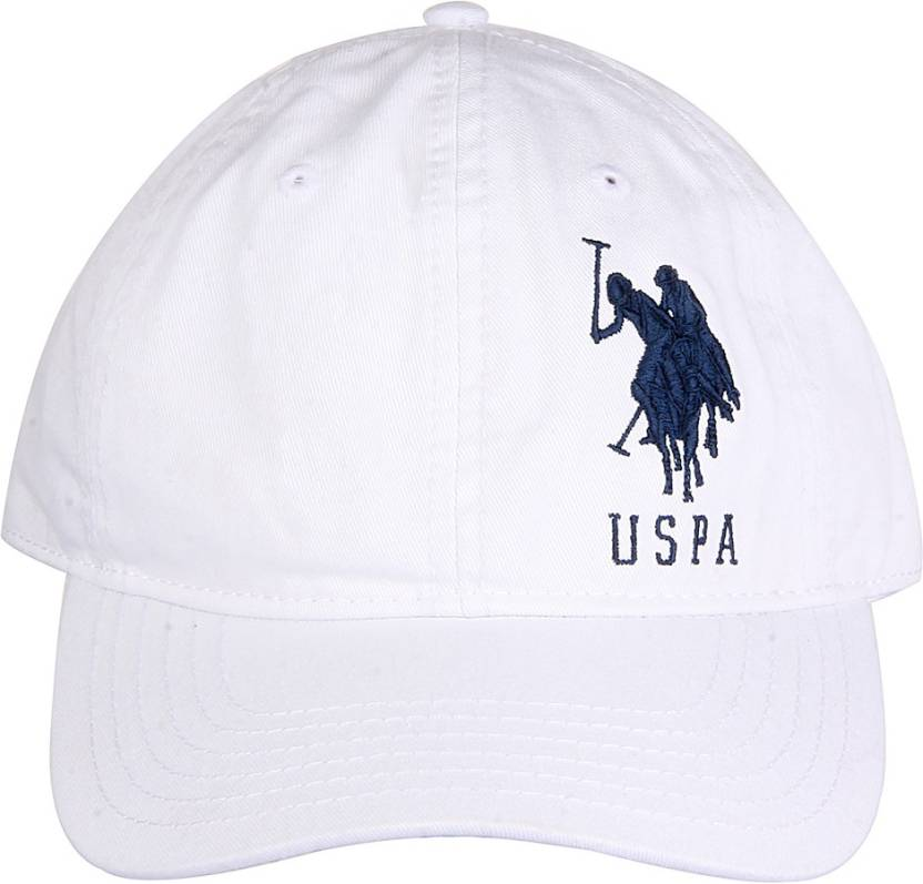 U.S. Polo Assn Solid Round Cap - Buy White U.S. Polo Assn Solid Round Cap  Online at Best Prices in India  2ded0b8133a
