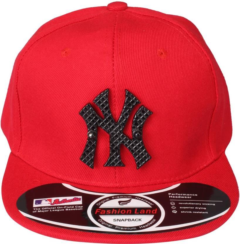 Ochre New york Baseball cap b9af108c132