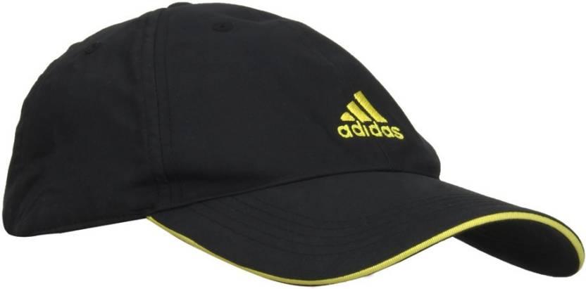 1c202c86 ADIDAS ESS Cap - Buy black/vivid yellow s13/vivid yellow s13 ADIDAS ESS Cap  Online at Best Prices in India | Flipkart.com
