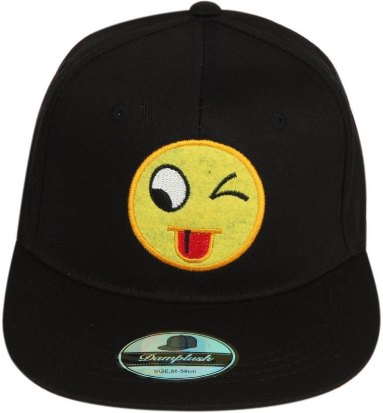 77d5a3ae657 ILU Solid Smiley Caps for man and woman