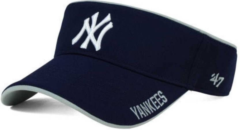 Nimble House Embroidered Embroidery Men Women Sport Sun Visor Adjustable  Velcro Tennis Cap YANKEES Cap - Buy Blue Nimble House Embroidered  Embroidery Men ... c1b78e2c866
