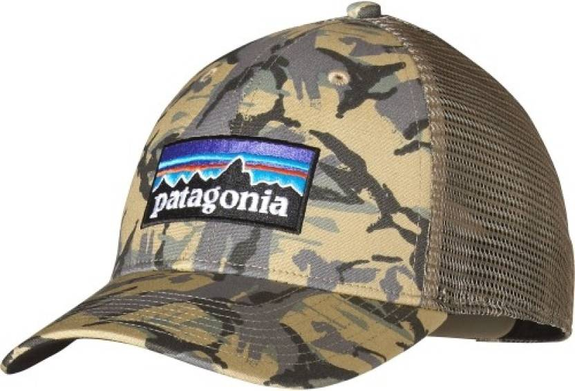 06d1d8be909 Patagonia P-6 LoPro Printed Trucker Hat Cap - Buy Classic Tan Patagonia P-6  LoPro Printed Trucker Hat Cap Online at Best Prices in India
