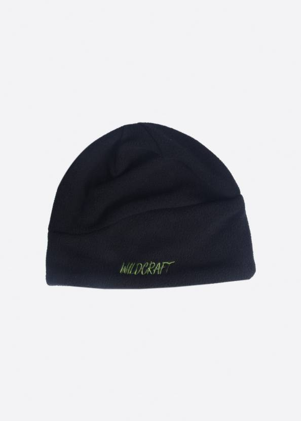 390c16cabc4 Wildcraft Solid Ski Cap - Buy Black Wildcraft Solid Ski Cap Online at Best  Prices in India