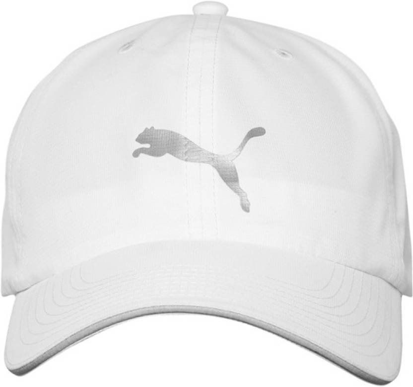 690ccca4b70 Puma Sports Cap - Buy White Puma Sports Cap Online at Best Prices in India