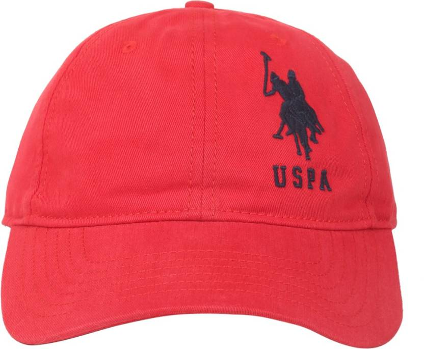 6c93b9b40d8 U.S. Polo Assn Solid Basic Cap Cap - Buy Red U.S. Polo Assn Solid Basic Cap  Cap Online at Best Prices in India