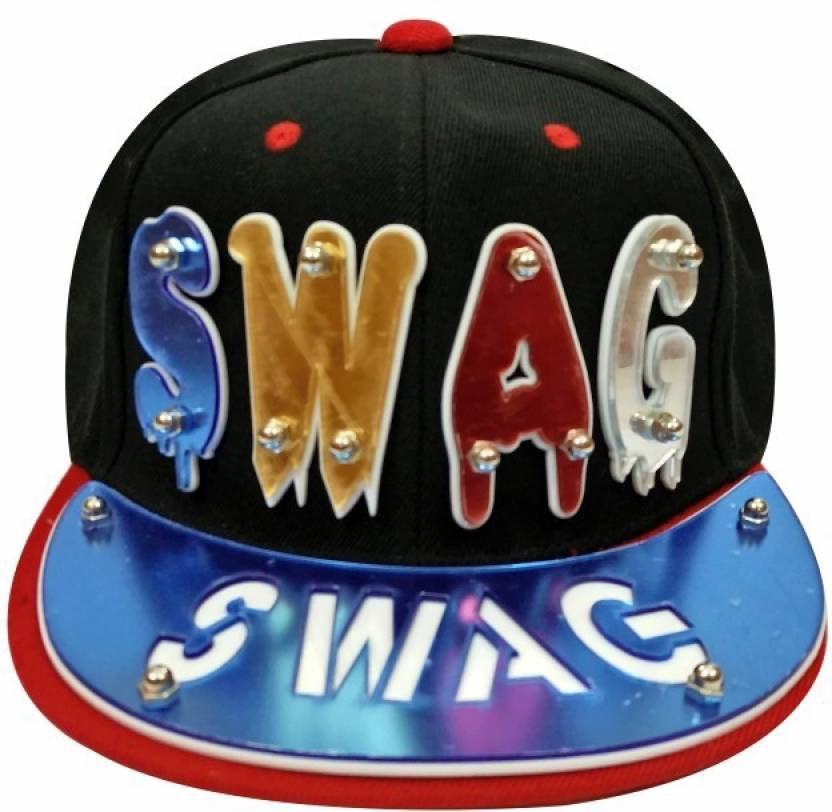 fba0e5d9211a7 TakeInCart TIC-498 Swag Solid Snapback Cap - Buy White TakeInCart TIC-498  Swag Solid Snapback Cap Online at Best Prices in India