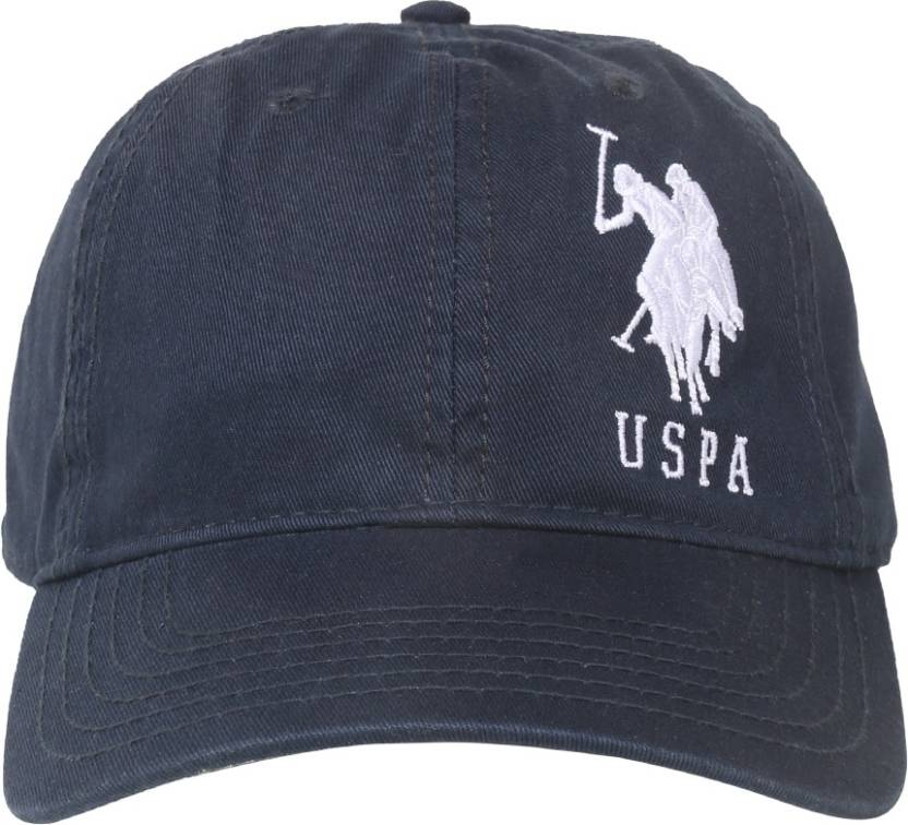 3f0584df2c9 U.S. Polo Assn Solid Basic Cap Cap - Buy Navy U.S. Polo Assn Solid Basic  Cap Cap Online at Best Prices in India