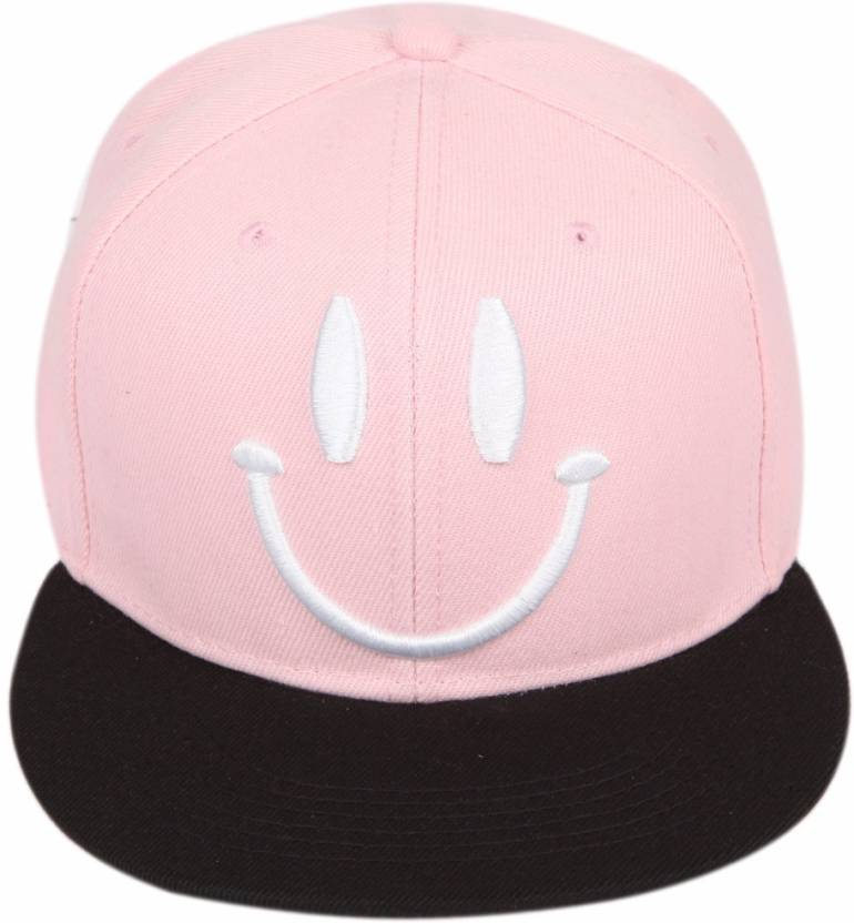 33f3232d611 ILU Smiley Caps baby pink cap Baseball Cap hip hop Cap Snapback Caps cotton  cap men women girls boys trucker hat dad caps Cap Cap - Buy Black ILU  Smiley ...
