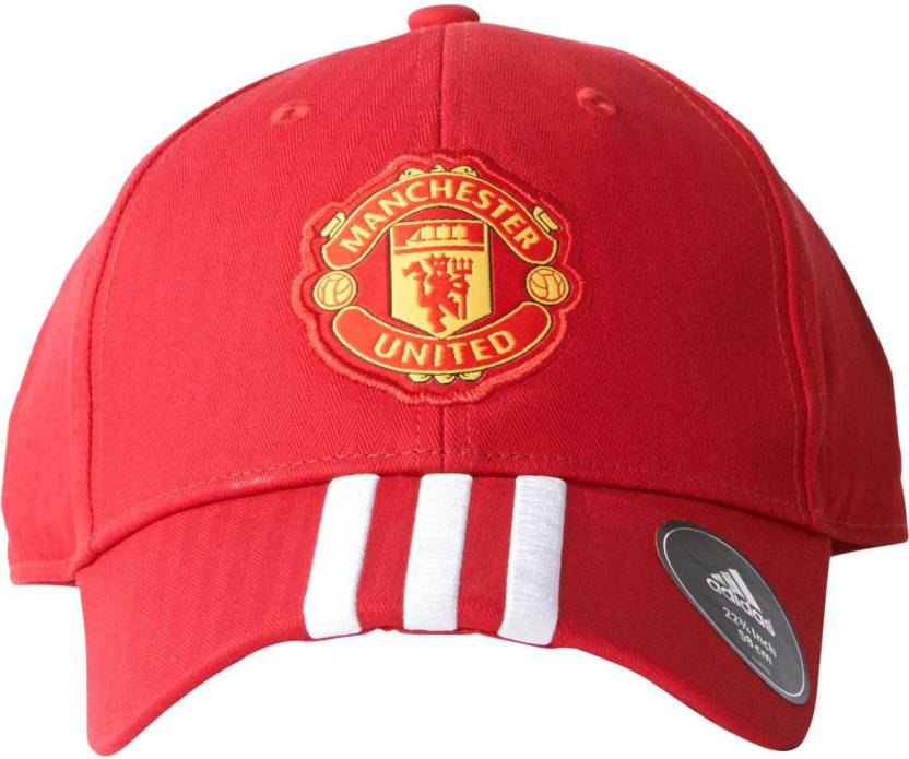 a93fde0466e5d6 ADIDAS MUFC 3S Cap - Buy red White black ADIDAS MUFC 3S Cap Online at Best  Prices in India