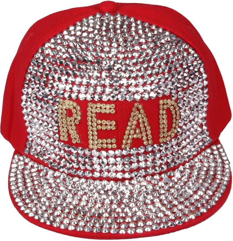 cebb1e5e4ad Ochre Embellished Red Read Snapback Cap