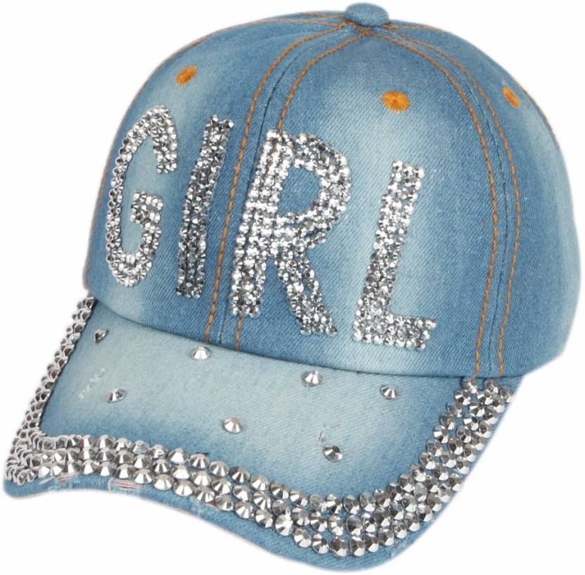 8206ac1177c81 ILU Denim girl Caps blue cap Baseball Cap hip hop Cap Snapback Caps cotton  cap men women girls boys trucker hat dad caps Cap Cap - Buy Blue ILU Denim  girl ...