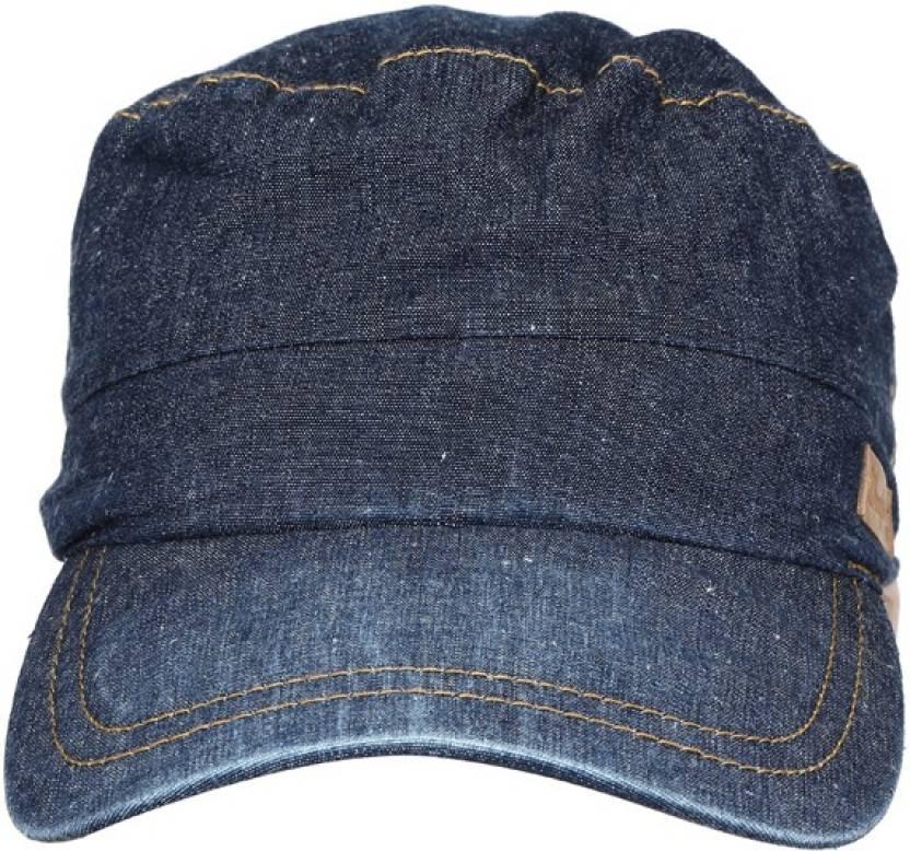 Wrangler Denim Cap - Buy Blue Wrangler Denim Cap Online at Best Prices in  India  89218b9790f
