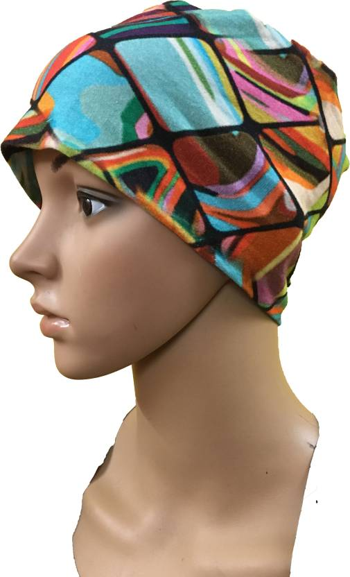 6280554f886 GIRIJA Printed WOMEN BONNET CANCER CAPS CHEMO THERAPY TURBANS COTTON SLEEP  TURBANS CHEMO CAPS UNDERSCARF CAPS UNDER HIJABS WOMENS PREGNANCY CAPS Cap -  Buy ...