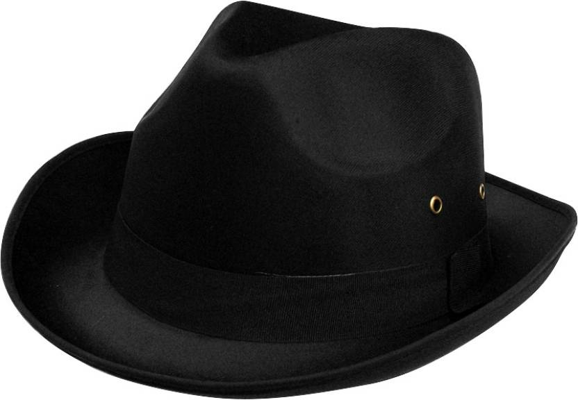 ... Premium Black Cowboy Hunter Hat Cap - Buy Multicolor Macanino Solid  Premium Black Cowboy Hunter Hat Cap Online at Best Prices in India  19d0b40d2da