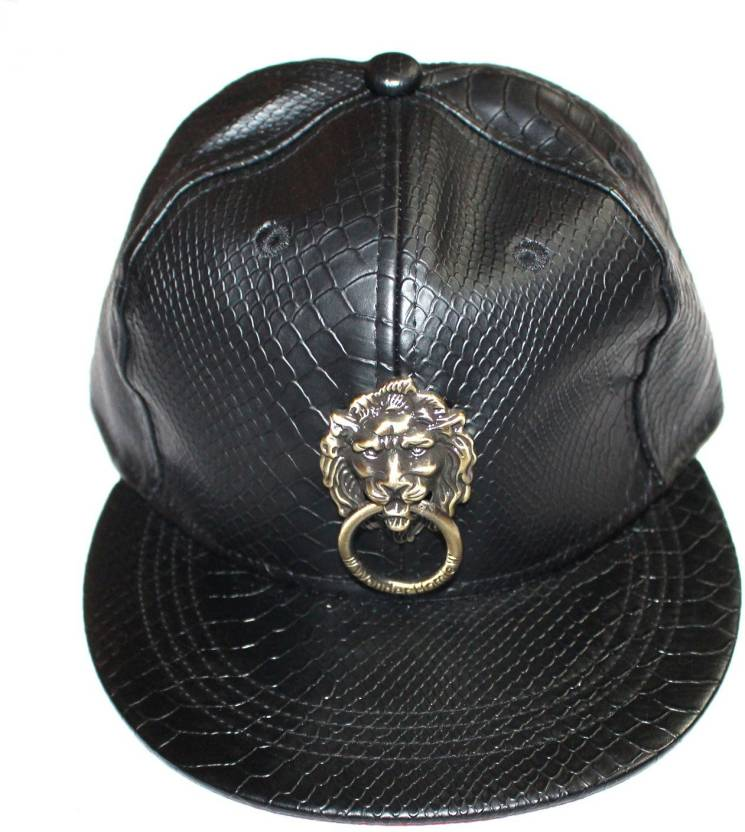 99DailyDeals Classy Original Leather Cap - Buy Black 99DailyDeals Classy  Original Leather Cap Online at Best Prices in India  f873856c062