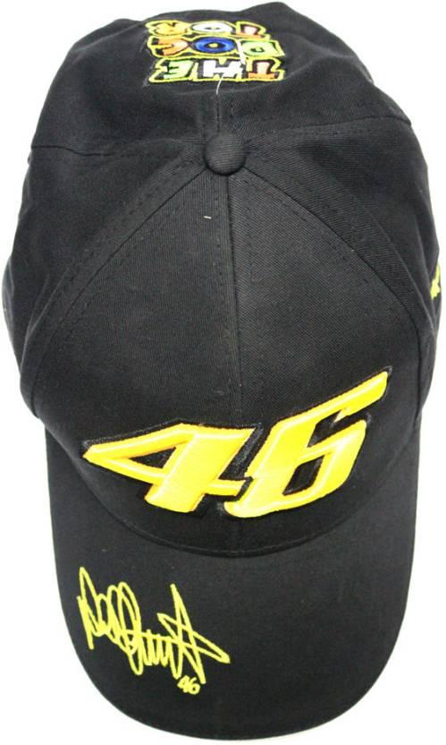 VR46 Printed Baseball Cap Cap - Buy Black VR46 Printed Baseball Cap Cap  Online at Best Prices in India  2991aa67f54