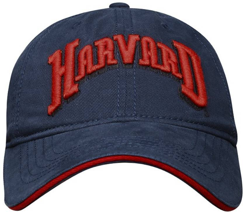 0bbd71d86bddd Harvard Solid Baseball Cap - Buy Dark Blue Harvard Solid Baseball Cap Online  at Best Prices in India